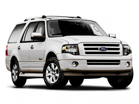 2008 Ford Expedition EL XLT White V8 54L Automatic 151797 miles  Traction Control  Stability