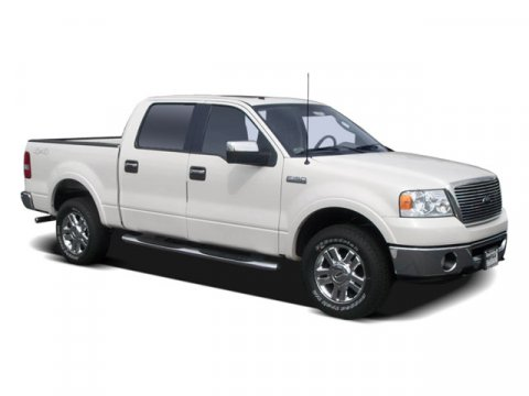 2008 Ford F-150 Lariat White V8 54L Automatic 40905 miles  Four Wheel Drive  Tow Hooks  Tire