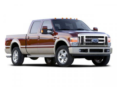 2008 Ford Super Duty F-250 SRW WhiteTAN V8 64L  101355 miles Public DealerGs WholesalerG