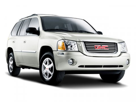 2008 GMC Envoy SLE1 Steel Gray Metallic V6 42L Automatic 128358 miles  Rear Wheel Drive  Tow