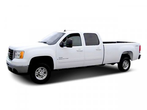 2008 GMC Sierra 2500HD Silver Birch Metallic V8 66L Automatic 158921 miles  Four Wheel Drive