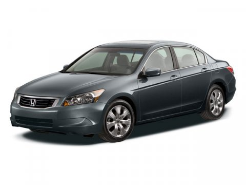 2008 Honda Accord Sdn EX-L  V4 24L Automatic 58826 miles Black Leather First Aid Kit MP3 dec