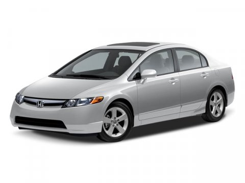2008 Honda Civic Sdn EX-L Gray V4 18L Manual 149984 miles Energy-efficient and cost-effective