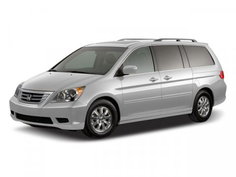 2008 Honda Odyssey EX-L Dark Cherry PearlIvory V6 35L Automatic 90494 miles  Power Moonroof