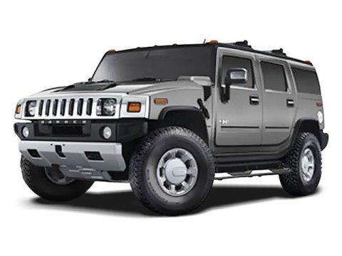 2008 HUMMER H2 SUV  V8 62L Automatic 60388 miles  Four Wheel Drive  LockingLimited Slip Dif