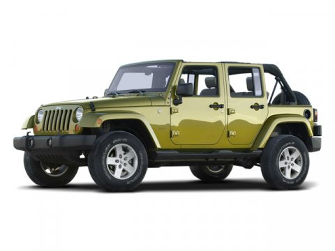 2008 Jeep Wrangler Unlimited X Detonator Yellow V6 38L  59863 miles CARFAX 1-Owner GREAT MILE