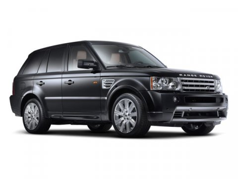 2008 Land Rover Range Rover Sport HSE Java Black V8 44L Automatic 92930 miles  Traction Contro
