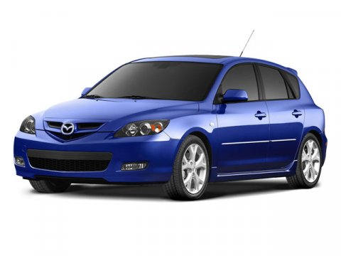 2008 Mazda Mazda3 DARK BLUE V4 23L  57419 miles  Front Wheel Drive  Tires - Front Performance