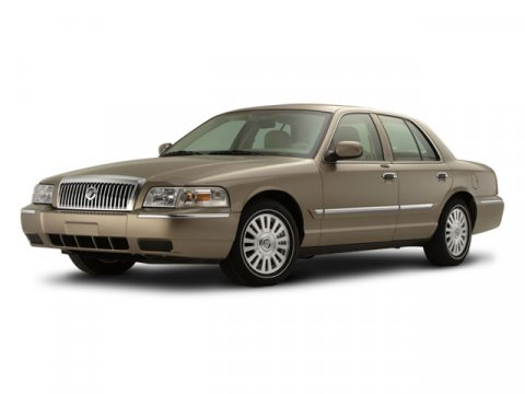 2008 Mercury Grand Marquis LS Blue V8 46L Automatic 62173 miles  Traction Control  Rear Wheel
