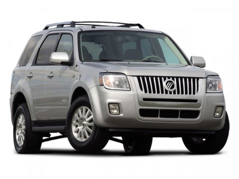2008 Mercury Mariner Premier Tungsten Grey Metallic V6 30L Automatic 64085 miles  Traction Con