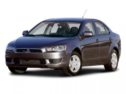 2008 Mitsubishi Lancer GTS Tarmac Black Pearl V4 20L Variable 117899 miles  Front Wheel Drive