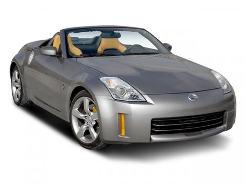 2008 Nissan 350Z Grand Touring Convertible RWD Magnetic Black PearlBrown V6 35L Automatic 3962