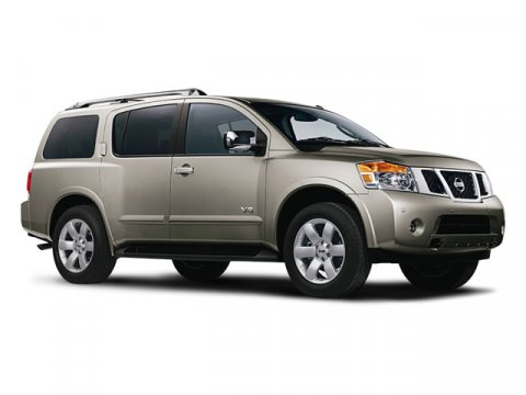 2008 Nissan Armada SE Galaxy V8 56L Automatic 40193 miles -LOW MILES- 3RD ROW SEATING PARKING