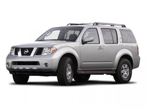 2008 Nissan Pathfinder LE Super Black Metallic V6 40L Automatic 60318 miles  Traction Control