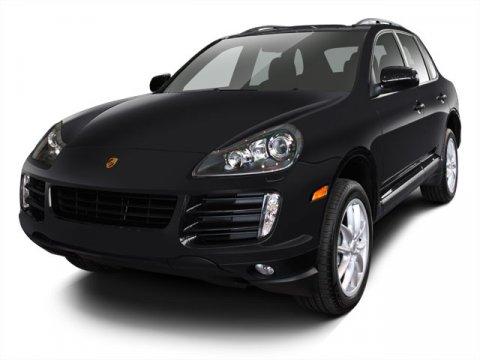 2008 Porsche Cayenne S Black V8 48L Automatic 105879 miles  All Wheel Drive  Traction Contro