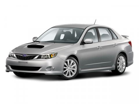 2008 Subaru Impreza Sedan WRX Satin White Pearl V4 25L Manual 68106 miles  Turbocharged  Trac