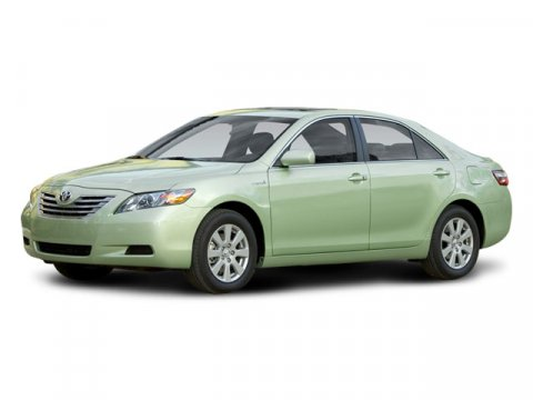2008 Toyota Camry Hybrid LEATHER Super White V4 24L Variable 119112 miles CARFAX 1-OWNER This