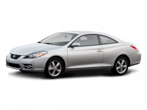 2008 Toyota Camry Solara Black V6 33L Automatic 47964 miles  Front Wheel Drive  Temporary Spa