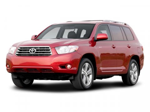 2008 Toyota Highlander Sport SUNFIRE RED PEAGray V6 35L Automatic 42462 miles  Traction Contro