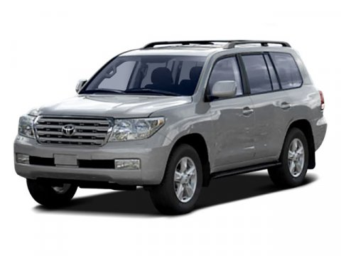 2008 Toyota Land Cruiser LEATHER Magnetic Gray Metallic V8 57L Automatic 68452 miles  Traction