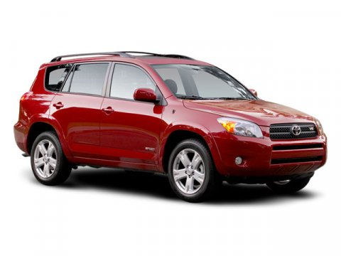2008 Toyota RAV4 FWD Barcelona Red MetallicAsh V4 24L Automatic 74729 miles Clean Carfax One