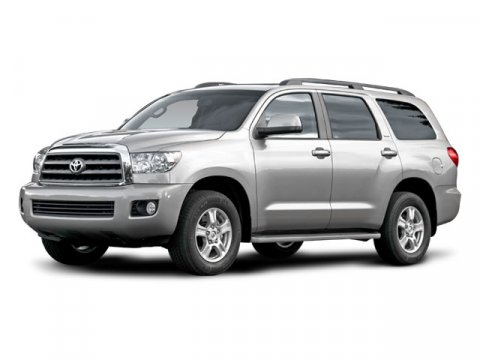 2008 Toyota Sequoia SR5 Silver Sky Metallic V8 57L Automatic 156393 miles  LockingLimited Sli