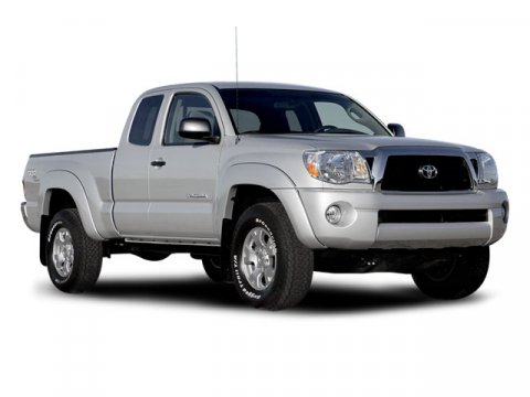 2008 Toyota Tacoma 2WD Access I4 MT GS Super WhiteGraphite V4 27L Manual 25929 miles Toyota 