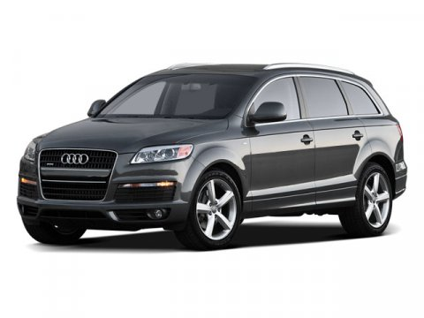 2009 Audi Q7 Quattro Ice Silver MetallicBlack V6 36L Automatic 47286 miles ABSOLUTELY PERFECT
