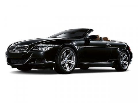 2009 BMW M6 2DR CONV BLACK V10 50L  50201 miles Nav Stick shift Come take a look at the dea
