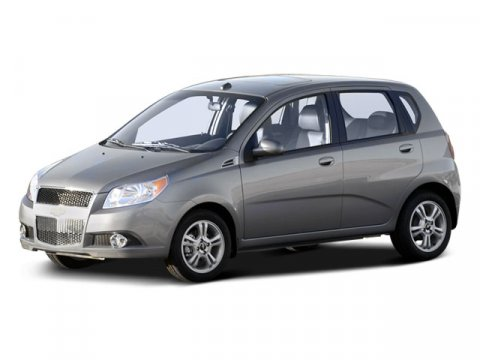 2009 Chevrolet Aveo Aveo 5 LT with 1LT 4dr Hatchback Black Granite MetallicCharcoalLight V4 16L
