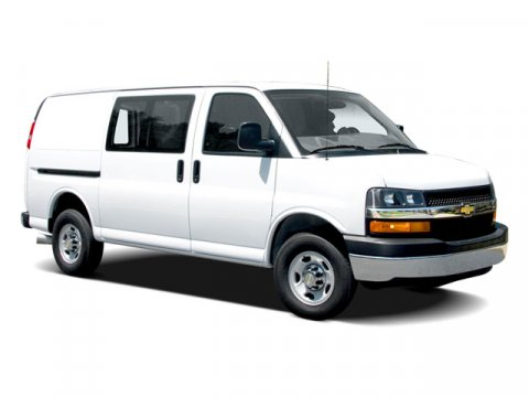 2009 Chevrolet Express Cargo Van White V6 43L Automatic 153912 miles New Price 2009 Chevrole