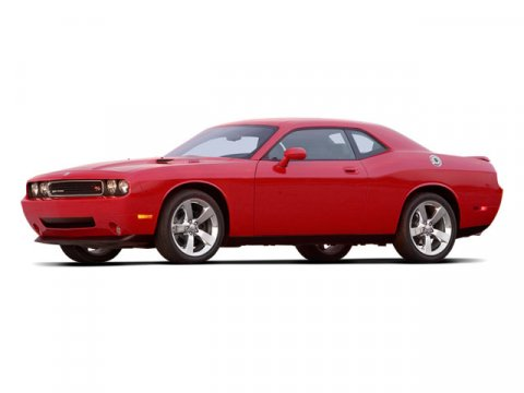 2009 Dodge Challenger SE Red V6 35L Automatic 44645 miles  High Output  Rear Wheel Drive  Po