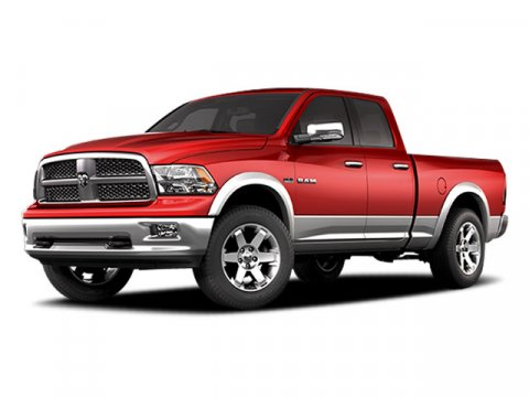 2009 Dodge Ram 1500 Sport Inferno Red Crystal Pearl V8 57L Automatic 94376 miles  Rear Wheel D