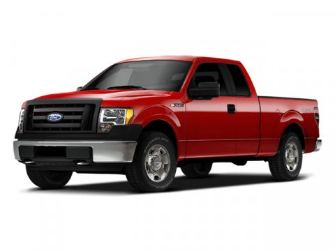 2009 Ford F-150 Lariat Royal Red MetallicTan V8 54L Automatic 40417 miles  Four Wheel Drive  