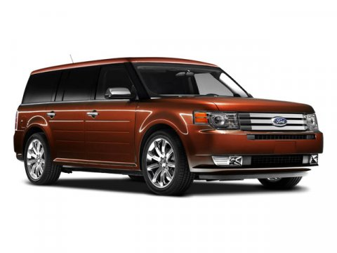 2009 Ford Flex SEL Red V6 35L Automatic 75425 miles AWD Come to Suburban Ford Mazda of Sterli