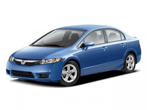 2009 Honda Civic Sdn LX-S Royal Blue PearlBlack V4 18L Automatic 74126 miles  Front Wheel Dri