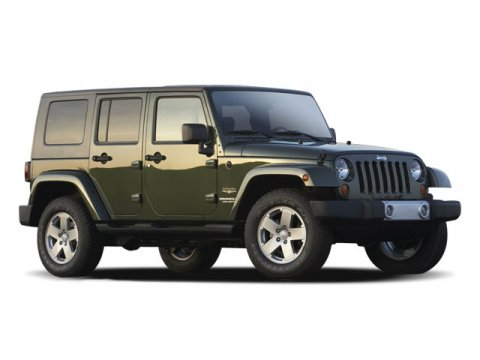 2009 Jeep Wrangler Unlimited X Stone White ClearcoatBlack Hard Top V6 38L Automatic 64978 mile