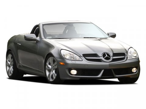 2009 Mercedes SLK-Class 35L Silver V6 35L Automatic 19516 miles Hurry and take advantage now