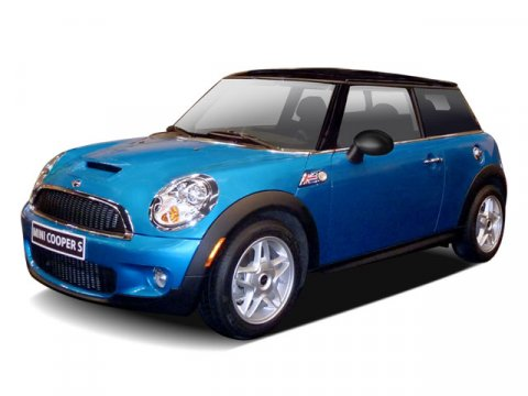 2009 MINI Cooper Hardtop S COLD WEATHER PKG Laser Blue MetallicCarbon Black V4 16L 6-Speed 522