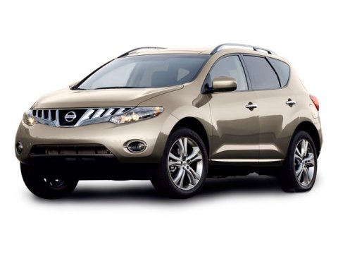 2009 Nissan Murano S Glacier Pearl V6 35L Variable 54955 miles  Keyless Start  Front Wheel Dr