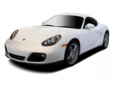 2009 Porsche Cayman Cream WhiteBlack V6 29L Automatic 22542 miles  Rear Wheel Drive  Power St