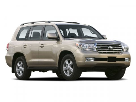 2009 Toyota Land Cruiser 4DR 4WD V8 AT Super White V8 57L Automatic 65855 miles ONE OWNER EM