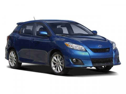 2009 Toyota Matrix S Blue Streak Metallic V4 24L Automatic 75539 miles  Front Wheel Drive  Po
