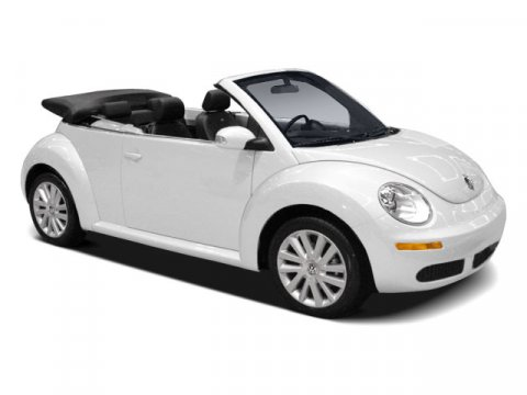 2009 Volkswagen New Beetle Convertible S Candy White V5 25L Automatic 25425 miles FUN FUN FUN