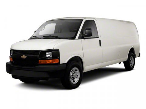 2010 Chevrolet Express Cargo Van Work Van Summit WhiteMedium Pewter V8 48L Automatic 55550 mil