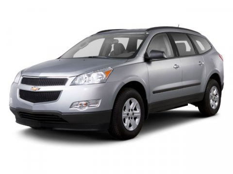 2010 Chevrolet Traverse LT w1LT Silver Ice Metallic V6 36L Automatic 61839 miles  Front Wheel