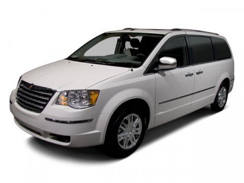2010 Chrysler Town  Country Touring White Gold V6 38L Automatic 72436 miles CLEAN CARFAX