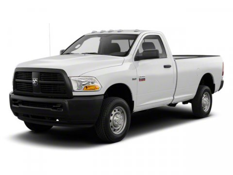 2010 Dodge Ram 2500 ST Bright White V8 57L  31105 miles 2D Standard Cab 4WD and White In a
