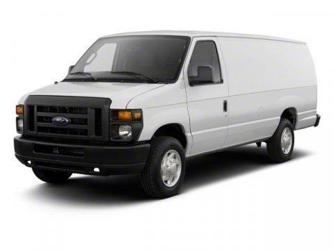2010 Ford Econoline Wagon XLT HEAVY DUTY Oxford White V8 54L Automatic 32610 miles  Rear Wheel