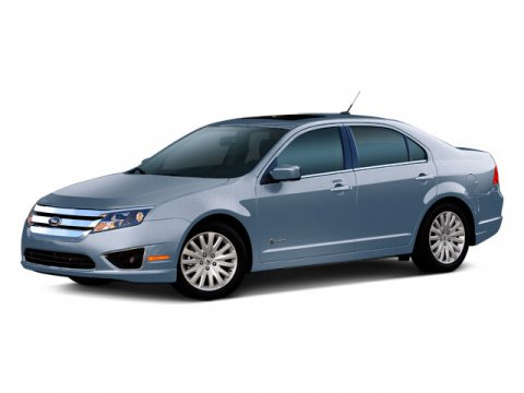 2010 Ford Fusion Hybrid White Platinum Metallic Tri-Coat V4 25L Variable 45355 miles  Front Wh
